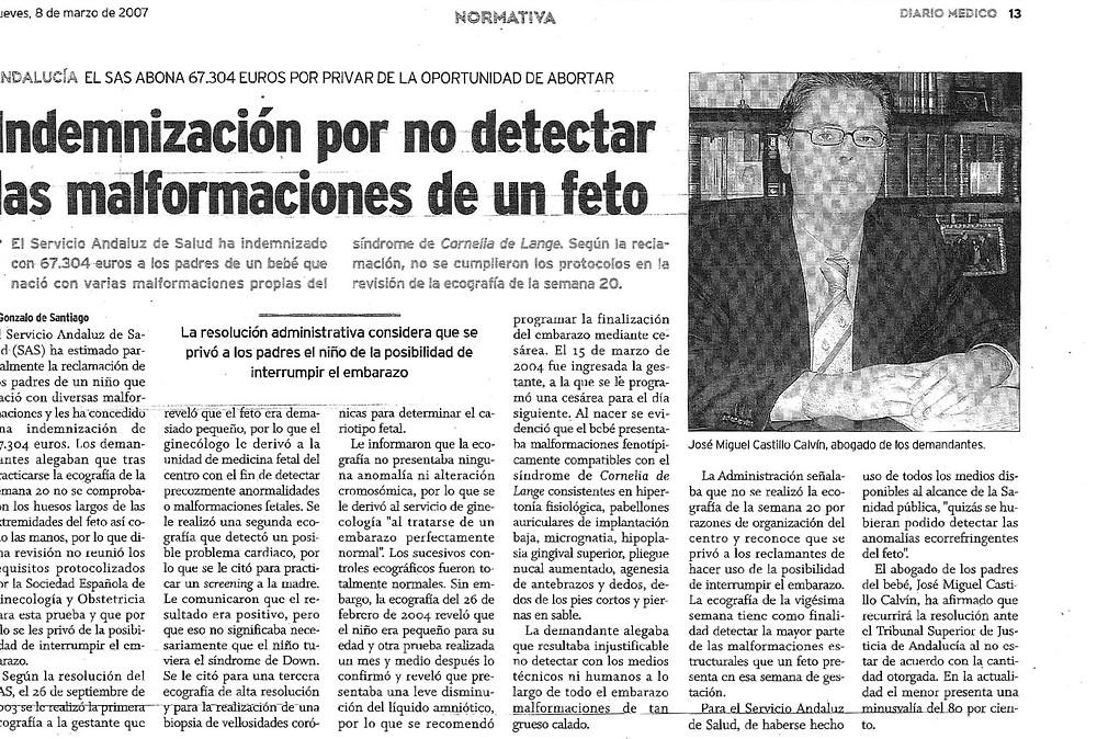 Castillo Calvin Abogados Negligencias Médicas Madrid y Granada. Mala praxis y errores medicos. Castillo Calvín Abogados