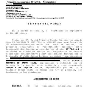 Condenan al SAS por negligencia médica: murió al confundir un melanoma maligno con un quiste sebáceo