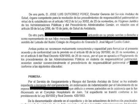 El SAS reconoce su culpa en la muerte de una joven no diagnosticada, e indemniza con 208.000 euros