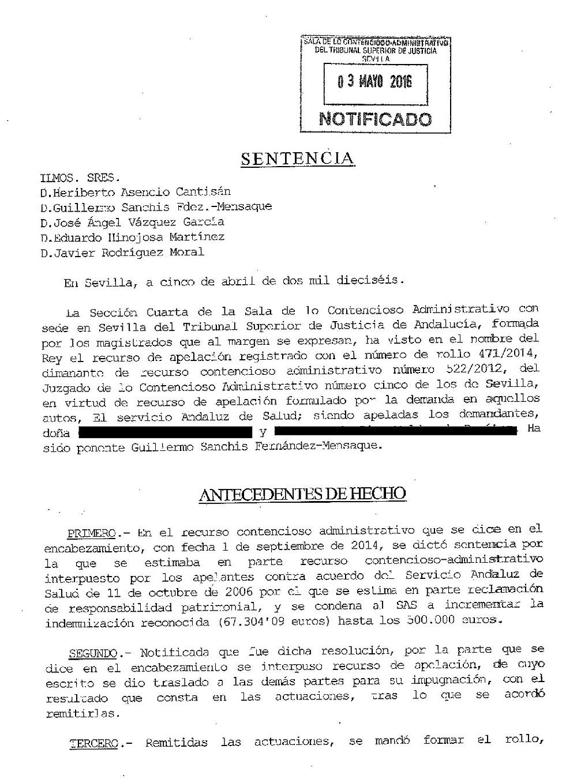 500.000 € por no diagnosticar malformaciones fetales