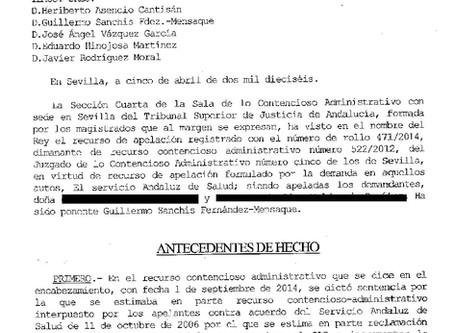 El SAS deberá pagar 500.000 €, por no diagnosticar malformaciones fetales