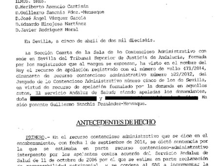 El SAS pagará 500.000 €, por no diagnosticar malformaciones fetales
