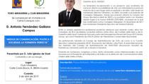 ANTONIO FERNÁNDEZ-GALIANO, EN FORO MIRASIERRA