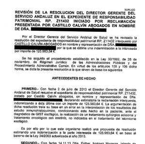 206.000 euros por quitarle parte del esófago por un error de diagnóstico