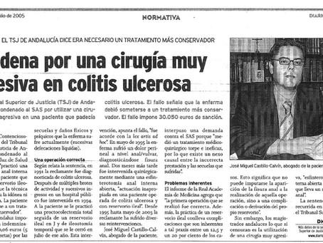 """El SAS indemniza con 30.000 euros a una paciente por usar  """"cirugía muy agresiva"""""""