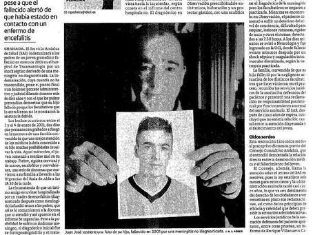 El SAS indemniza a la familia de un joven que falleció al no serle diagnosticada una meningitis