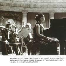 Maribel Calvín pianista negligencia médica