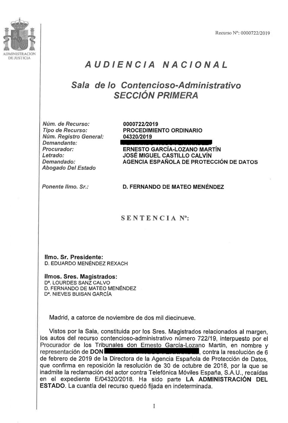 condena agencia española de proteccion de datos