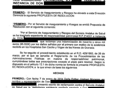 Indemnizan con 30.000 € por negligencia médica al tratar una diabetes