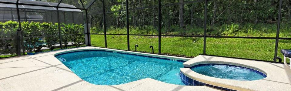 Pool and Spa at Secret Key Villa