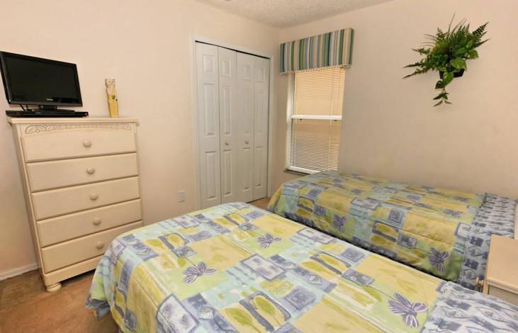 Twin bedroom one