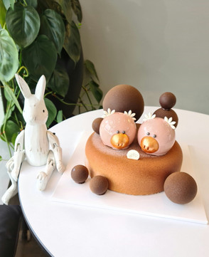 Dark Chocolate Mousse & Pig Mousse