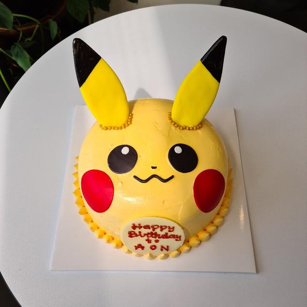 Pikachu custom cake