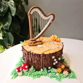 Harp cake