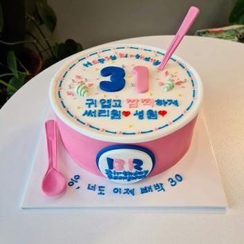 baskin robbins cake
