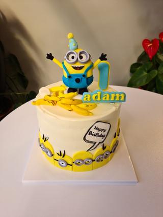 Minions theme cake ver.1