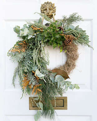 Luxury Christmas Wreath 14""