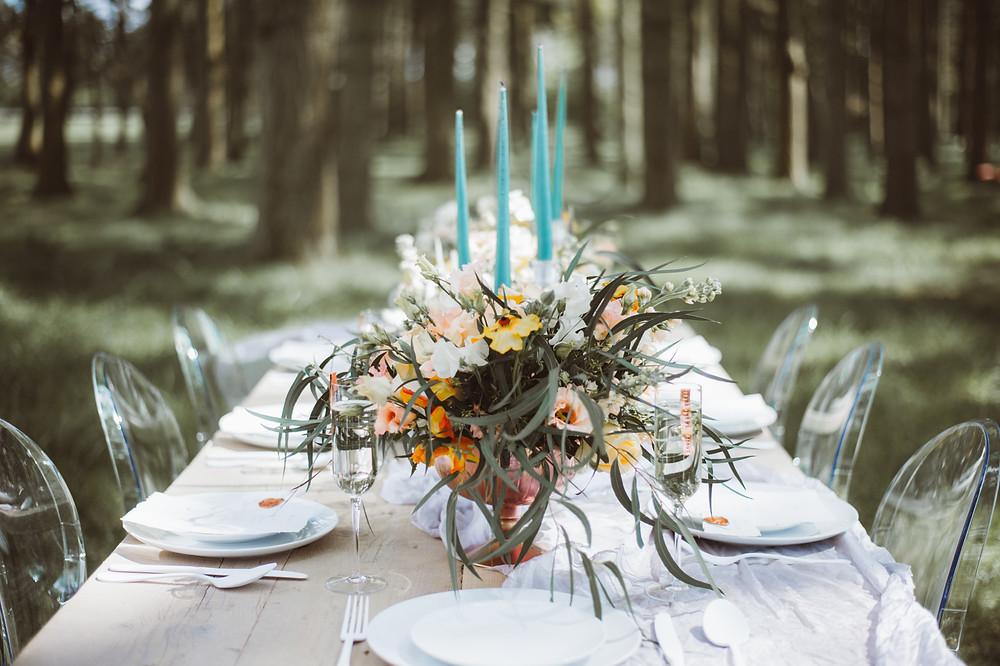Luxury Wedding Inspiration, Table Setting | Weddings by Jenna Hewitt