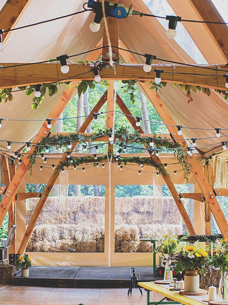 The Tree Marquee - A Unique New Wedding Venue Concept
