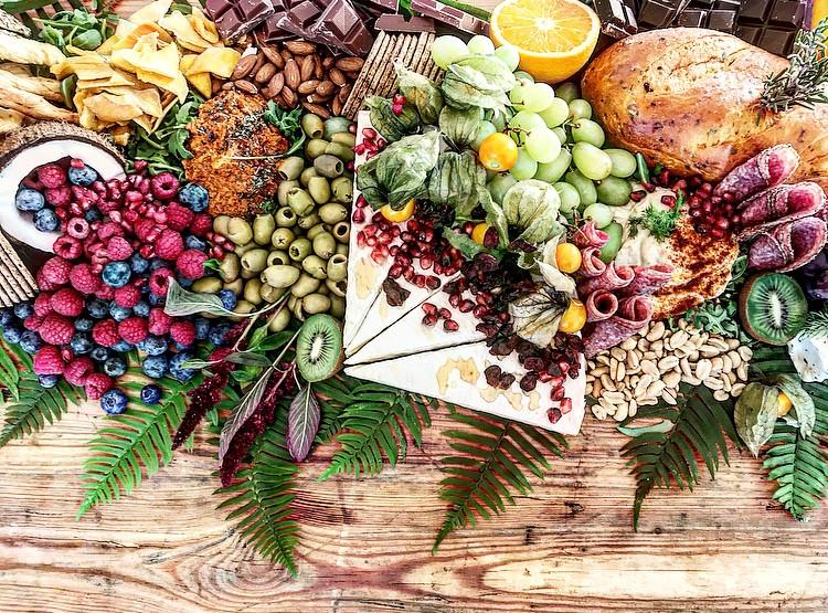 Wedding sharing food boards