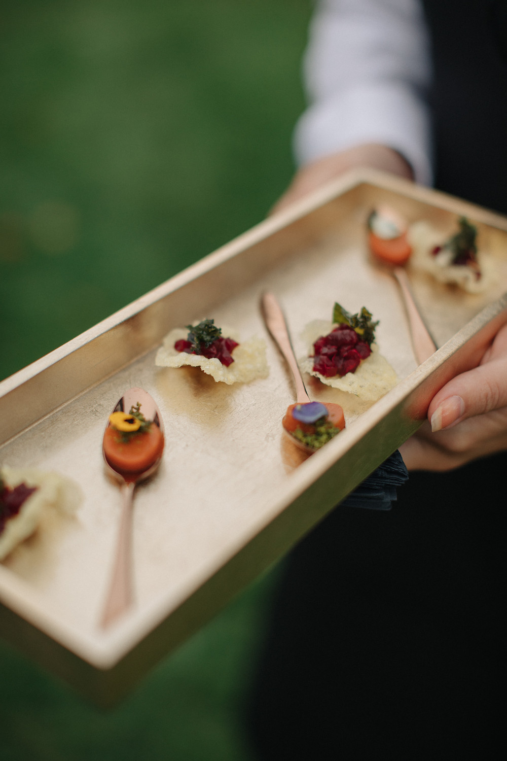 Wedding Canapés by Rhubarb