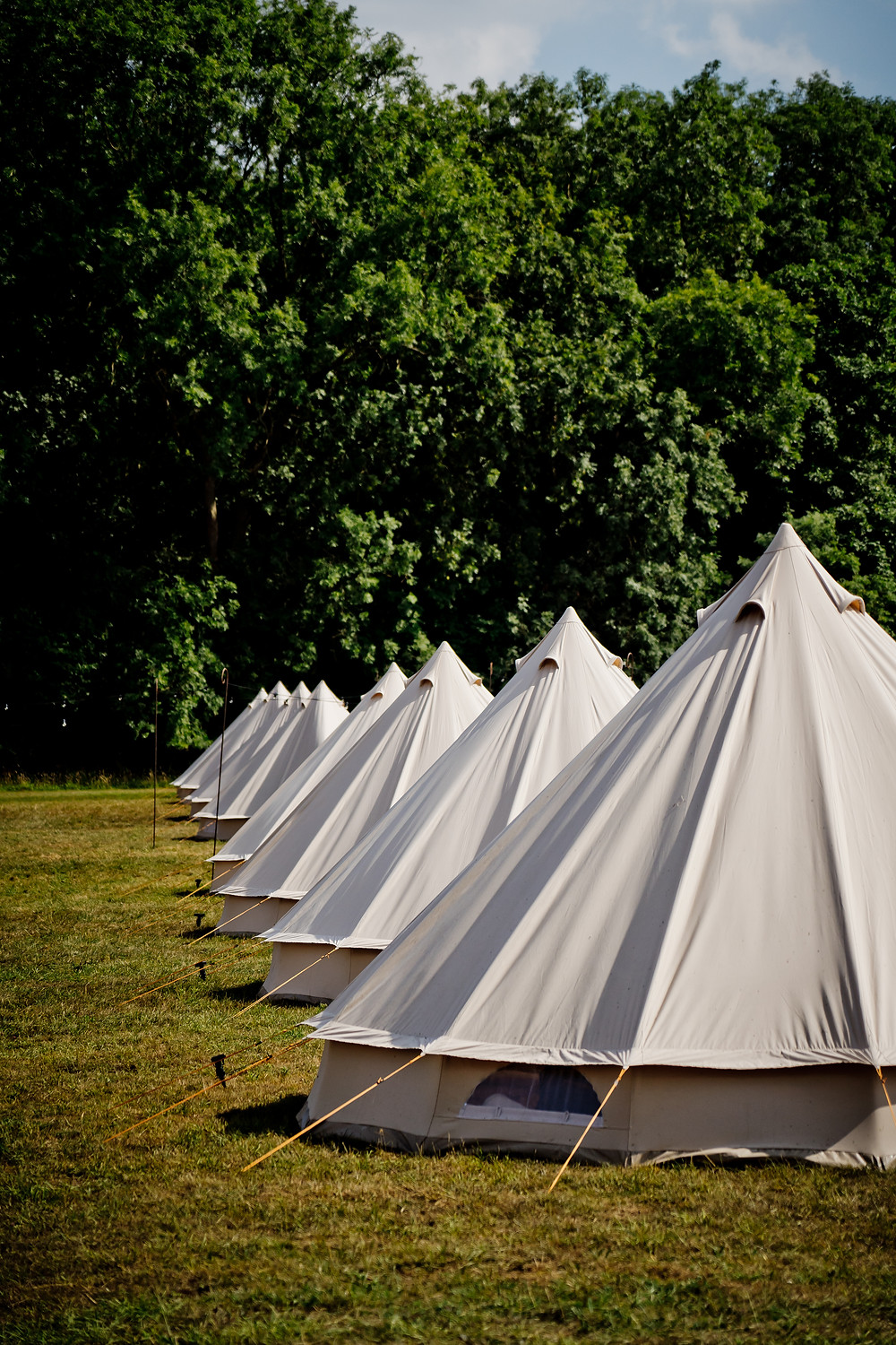 Wedding Day Bell Tent Village