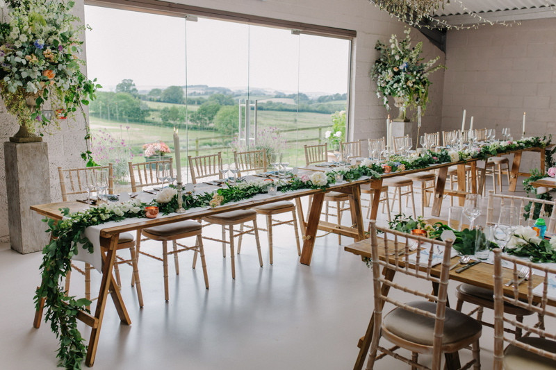 Wedding table inspiration at Axnoller