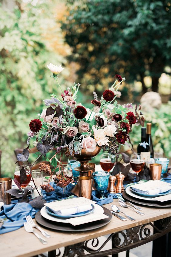 valentines wedding table inspiration