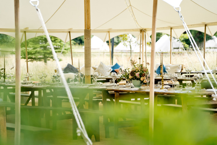 the cost of a marquee wedding