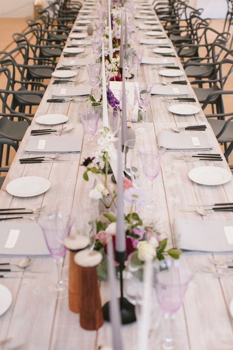 Scandi Themed Wedding Table