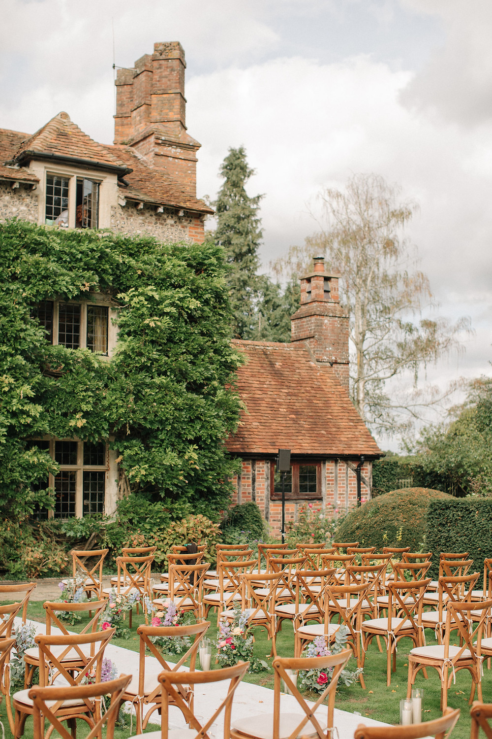 Henley at Home Outdoor Wedding Ceremony