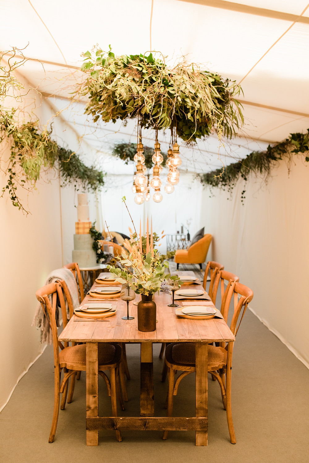 Winter Marquee Styling by Jenna Hewitt and Inside Outside Marquees
