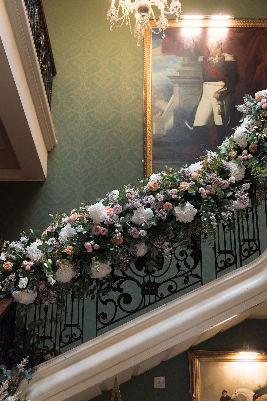 Floral Staircase Design