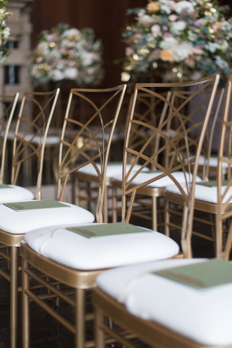 Art Deco Gold Chairs