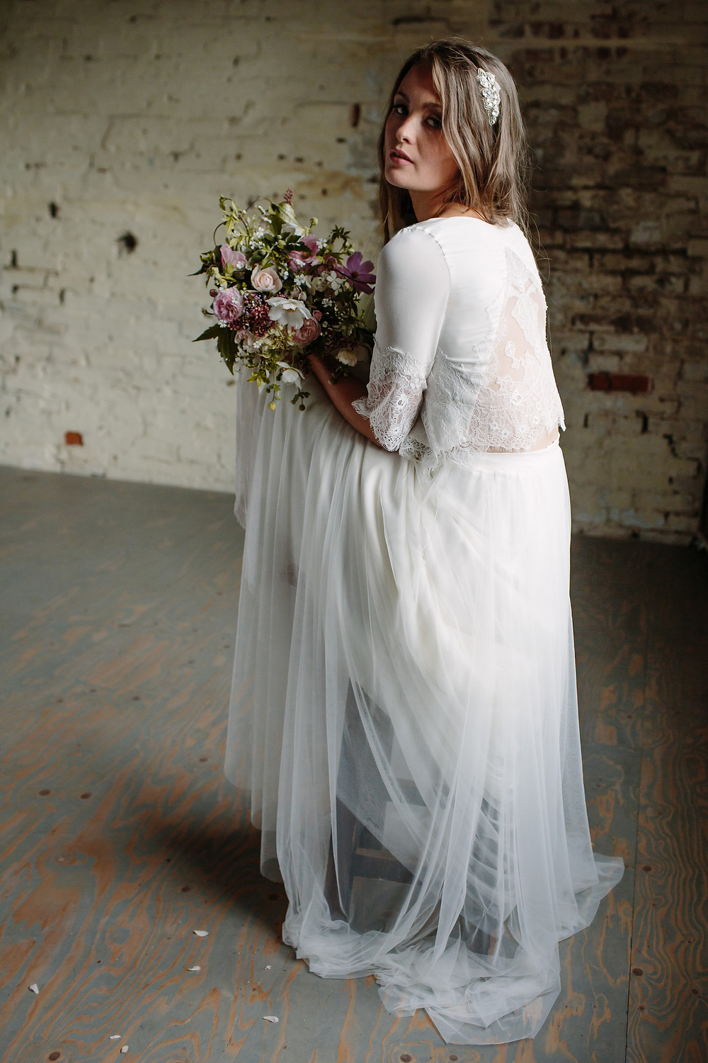 Sienna Von Hildemar wedding dress