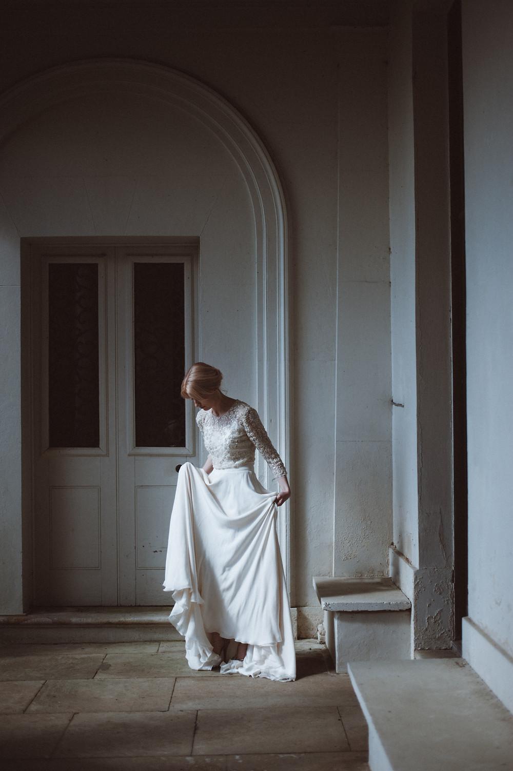 Otaduy Wedding Dress at Somerley House