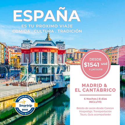 MADRID & EL CANTABRICO - SEPTIEMBRE 2021