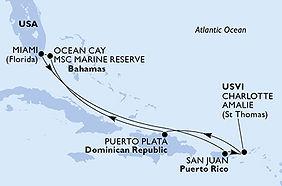 MSC Seashore - Estados Unidos - Puerto R