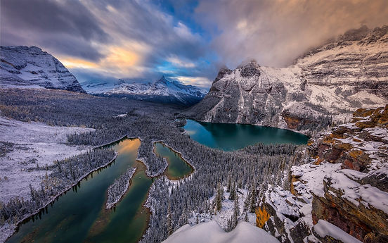lake-ohara-winter-mountains-forest-blue-