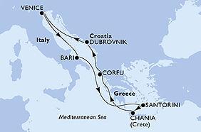 MSC Orchestra - Italia, Croacia, Grecia