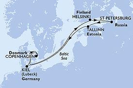 Virtuosa - Dinamarca, Finlandia, Rusia,