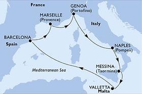 Seashore - España, Francia, Italia y Mal