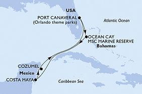 MSC Meravigilia - Caribe - Puerto Cañave