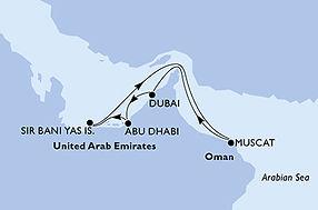 MSC Opera - Emiratos Arabes Unidos, Oman