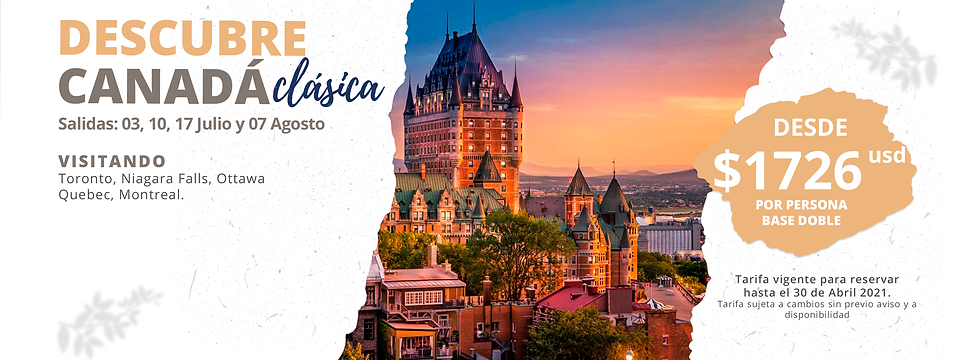 CANADA CLASICA VERANO 2021 - 28 FEB BANN