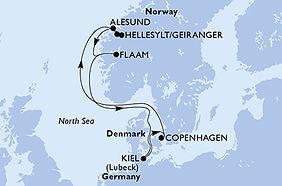 Virtuosa - Dinamarca, Noruega, Alemania