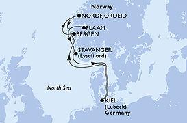 MSC Splendida - Alemania, Noruega - NE.j