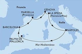 MSC Fantasia - Mediterraneo - Invierno 2