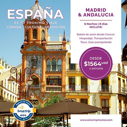 MADRID & ANDALUCIA - SEPTIEMBRE 2021 A M