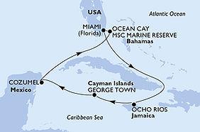 MSC Seashore - Estados Unidos - Jamaica